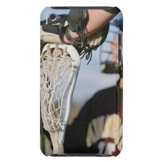 Hand on a Lacrosse Stick iPod Touch Case