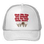 Hand over Ice Cream Trucker Hat