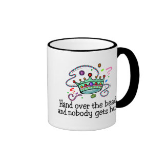Hand Over The Beads And Nobody Gets Hurt Beads Mugs
