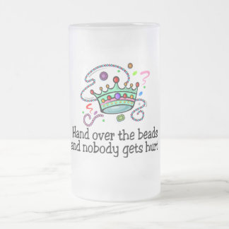 Hand Over The Beads And Nobody Gets Hurt Beads Coffee Mug