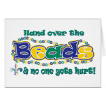 Hand over the beads greeting cards
