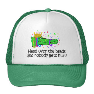 Hand Over The Beads Trucker Hat