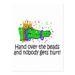 Hand Over The Beads Post Card