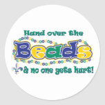 Hand over the beads sticker