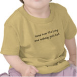 hand over the binky and nobody gets hurt. tee shirts