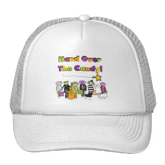 Hand Over the Candy Halloween Tshirts and Gifts Trucker Hat