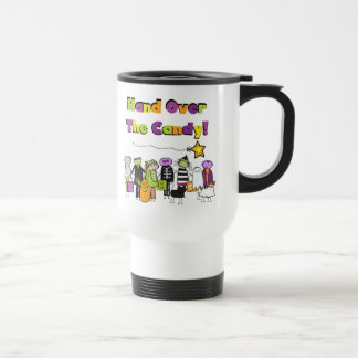Hand Over the Candy Halloween Tshirts and Gifts Coffee Mug