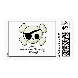 Hand Over The Candy Pirate Stamp