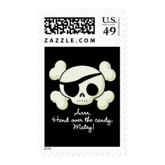 Hand Over The Candy Pirate Stamps