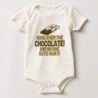 Hand Over The Chocolate Baby Creeper