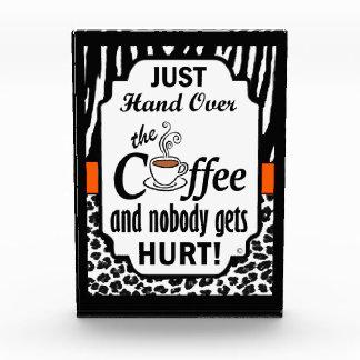 Hand Over the Coffee Award