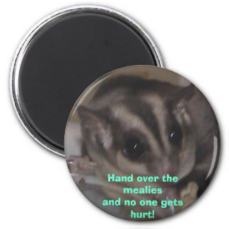 hand over the mealies! magnet