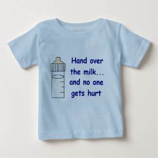 HAND OVER THE MILK INFANT T-SHIRT