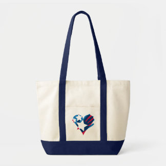 Hand Over Your Heart Impulse Tote Bag