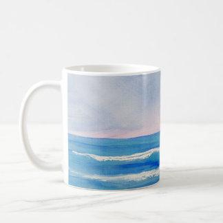 Hand Painted Beach Mug
