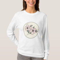 Hand Painted Blossoms T-Shirt