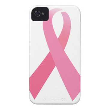 Professional Business Hand painted cancer ribbons iPhone 4 case