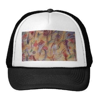 Hand Painted Canvas Hat