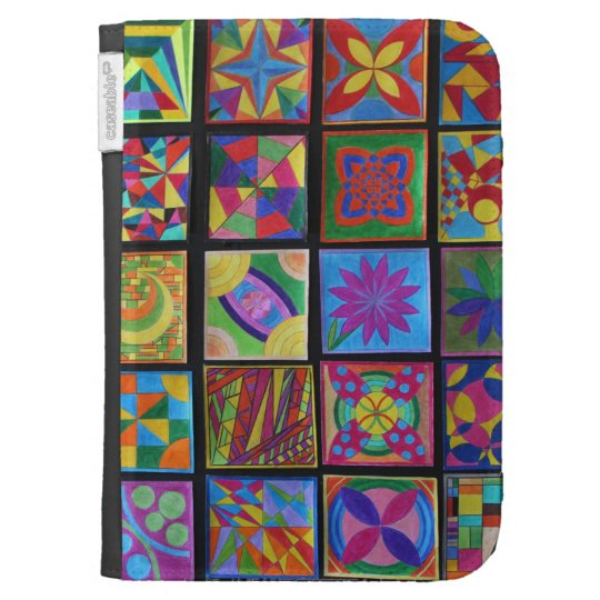 Hand painted Caseable Case Kindle 3G Case