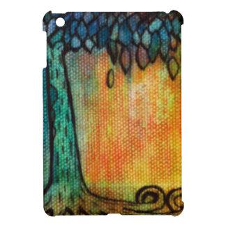 Hand Painted Colorful Tree of Life iPad Mini Case