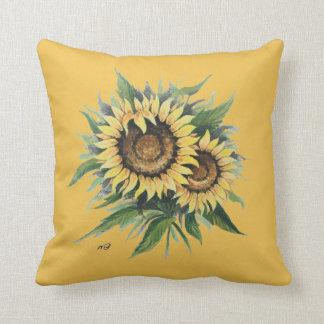 Hand painted cushion design