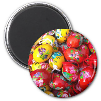 Hand-painted-Easter-eggs Magnet