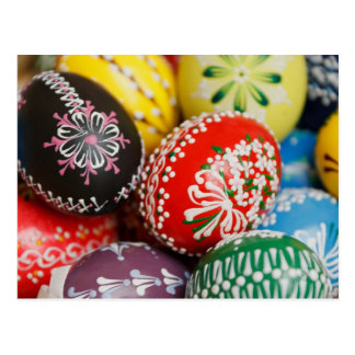 Hand-painted Easter Eggs Postcard