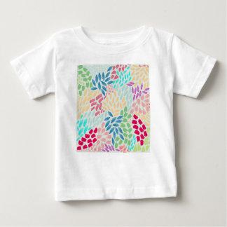 Hand Painted Flower Shower Baby T-Shirt