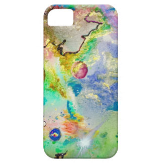 Hand Painted Galaxy iPhone 5 Case