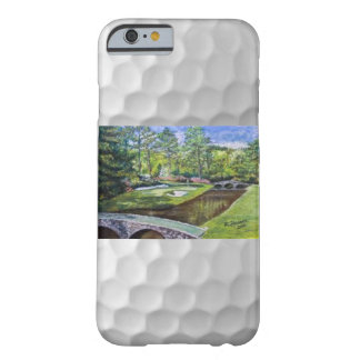 Hand painted golfcourse scene on iphone case barely there iPhone 6 case