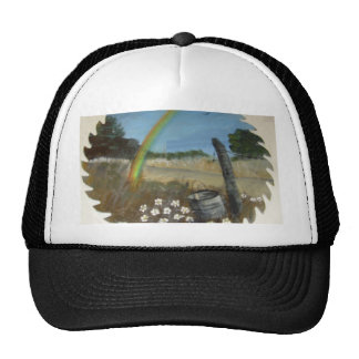 Hand painted items hat