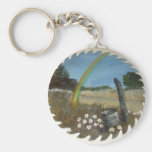 Hand painted items key chain