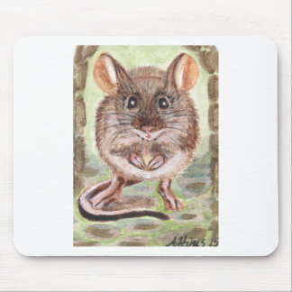 Hand Painted Mouse on a Mouse Pad