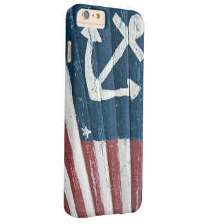 Hand Painted Nautical Flag Barely There iPhone 6 Plus Case