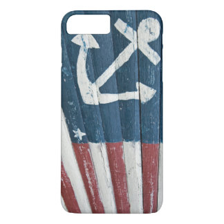 Hand Painted Nautical Flag iPhone 8 Plus/7 Plus Case