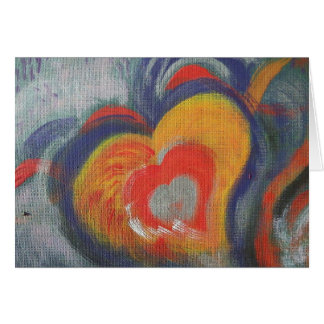Hand Painted Note Card - Fill Your Heart With Awe