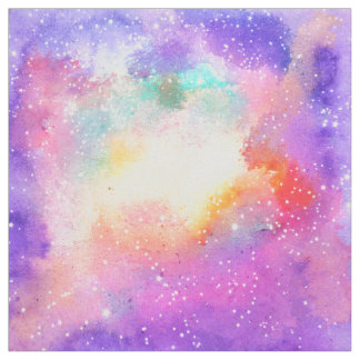 Pastel Watercolor Fabric