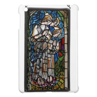 HAND PAINTED STAINED GLASS ANGELS. iPad MINI COVERS