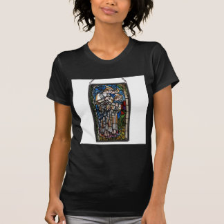 HAND PAINTED STAINED GLASS ANGELS. T-Shirt