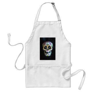 "Hand Painted Sugar Skull ""Jacob"" Aprons"