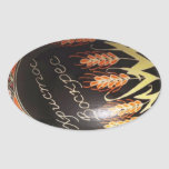Hand painted Ukrainian Easter egg Stickers