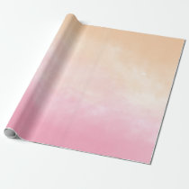 Hand painted watercolor patterns and textures wrapping paper
