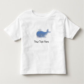 Hand-painted whale for kids - CUSTOMIZE Toddler T-shirt