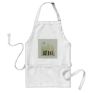 Hand Painting 2 Adult Apron