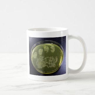 Hand Petri Dish Bacteria Classic White Coffee Mug