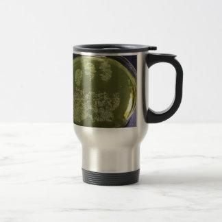 Hand Petri Dish Bacteria Travel Mug