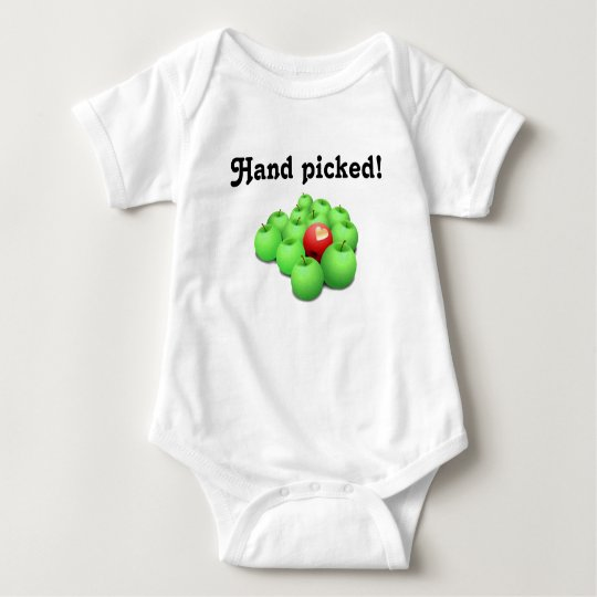 Hand Picked!  Adopted baby Baby Bodysuit