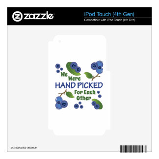 Hand Picked Skins For iPod Touch 4G