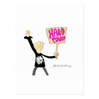 Hand Power Postcard