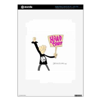 Hand Power iPad 3 Decal